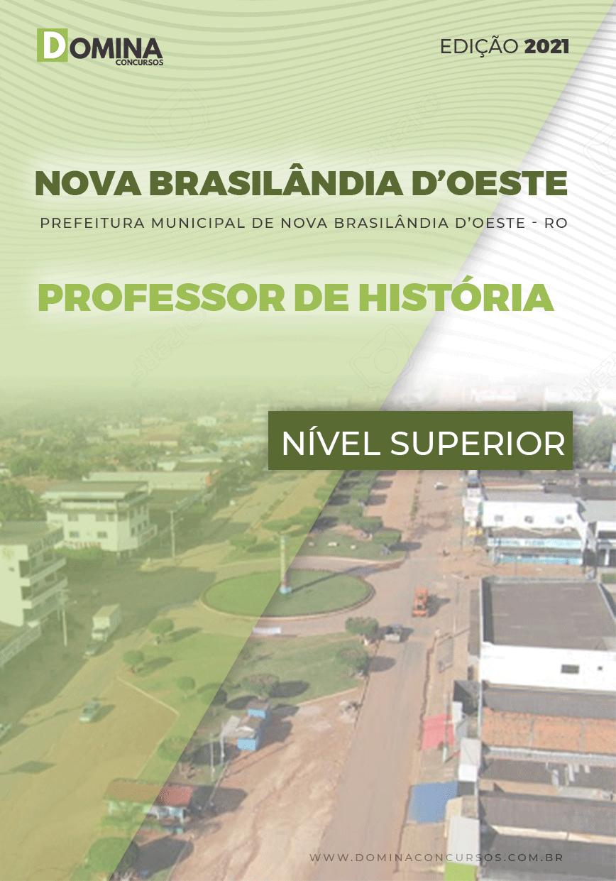 Apostila Nova Brasilândia D Oeste RO 2021 Prof História