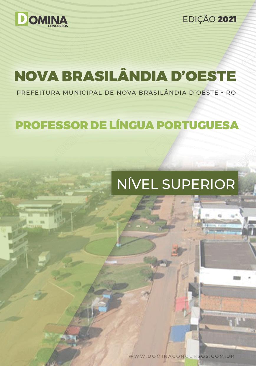 Apostila Nova Brasilândia D Oeste RO 2021 Prof Língua Portuguesa