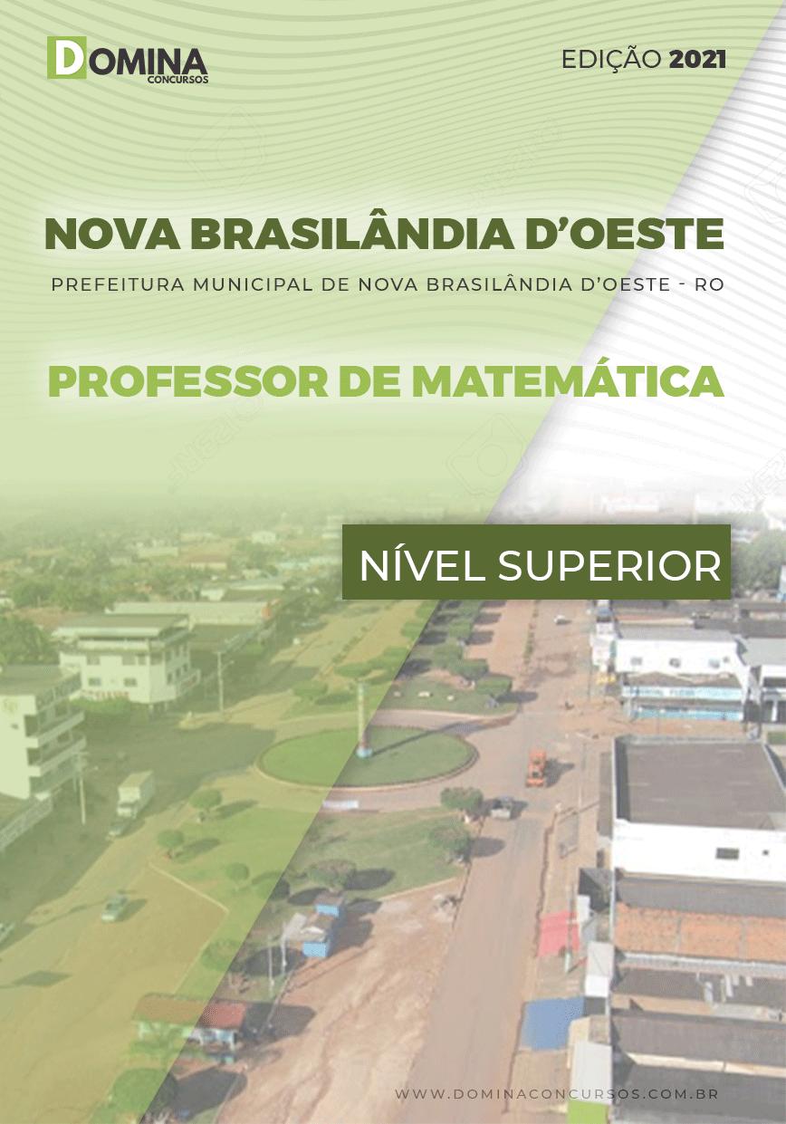 Apostila Nova Brasilândia D Oeste RO 2021 Prof Matemática