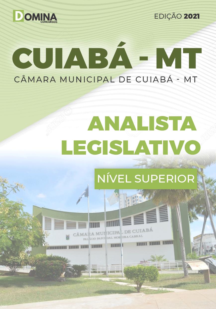 Apostila Câmara Cuiabá MT 2021 Analista Legislativo