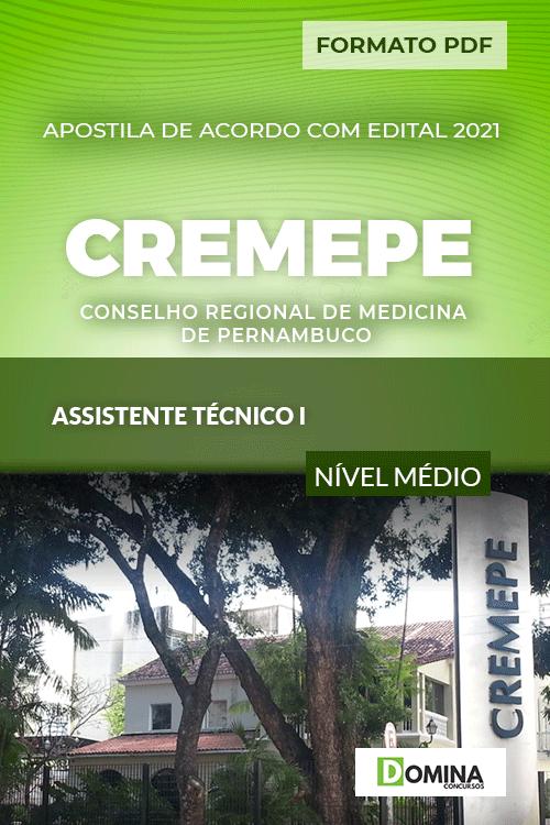 Apostila Concurso CREMEPE 2021 Assistente Técnico I