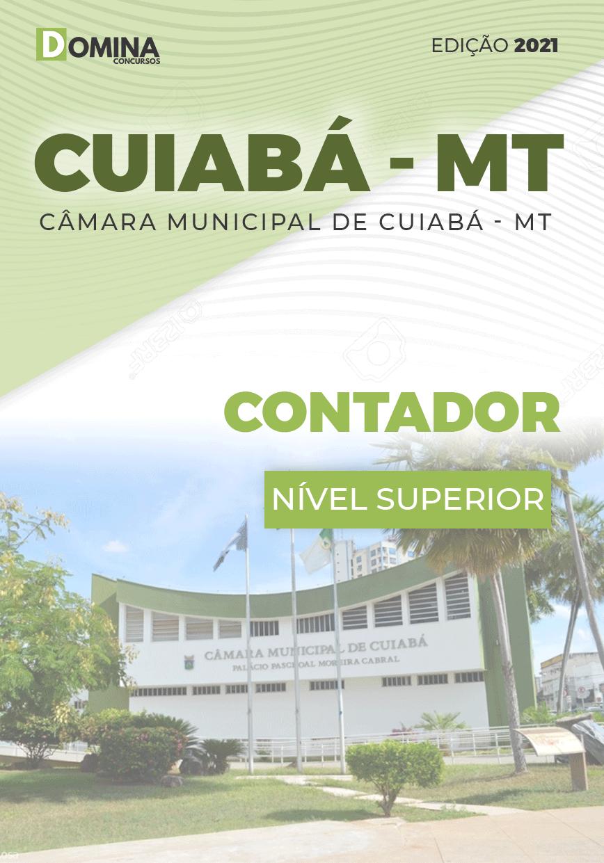 Apostila Concurso Câmara Cuiabá MT 2021 Contador