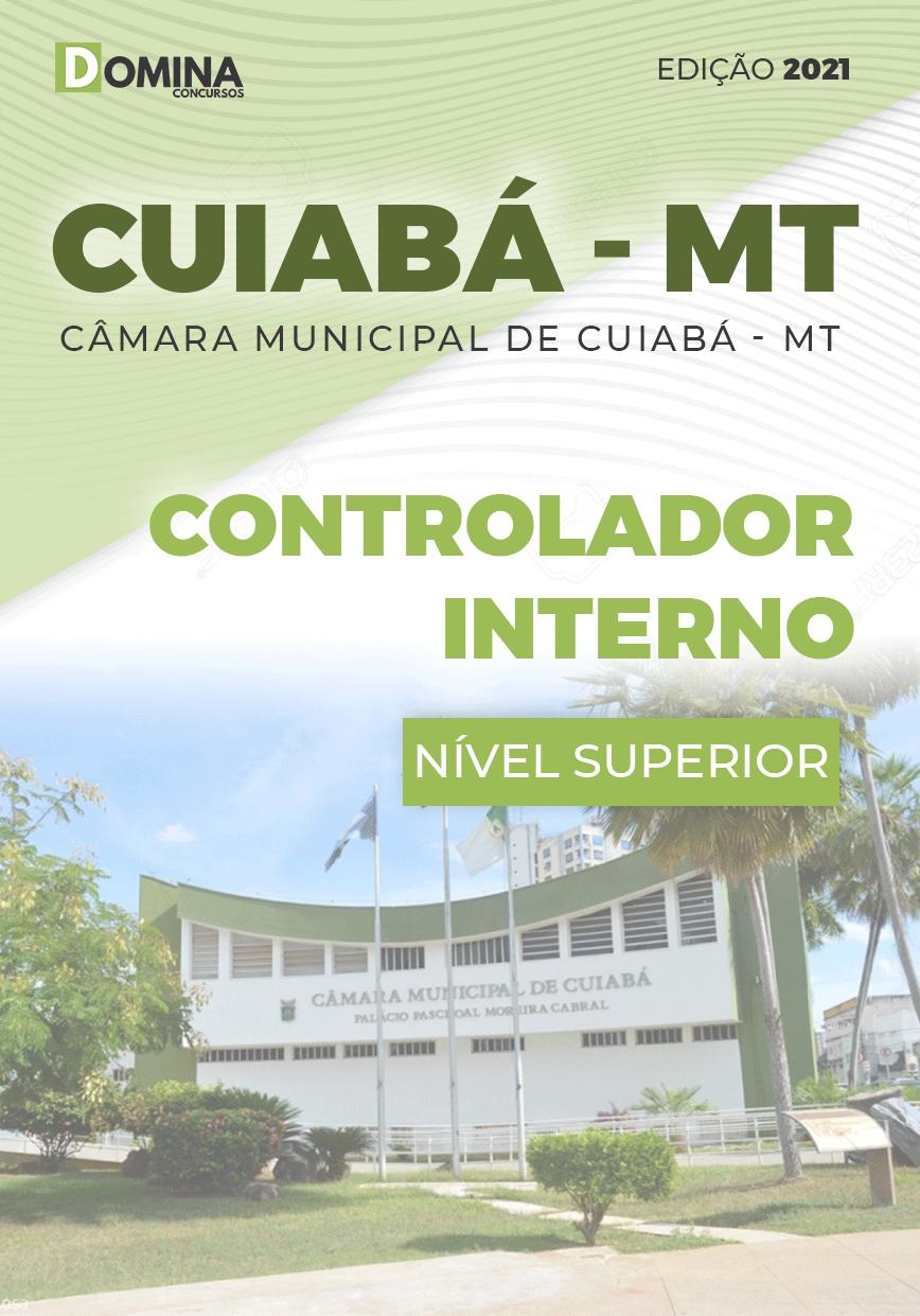 Apostila Concurso Câmara Cuiabá MT 2021 Controlador Interno