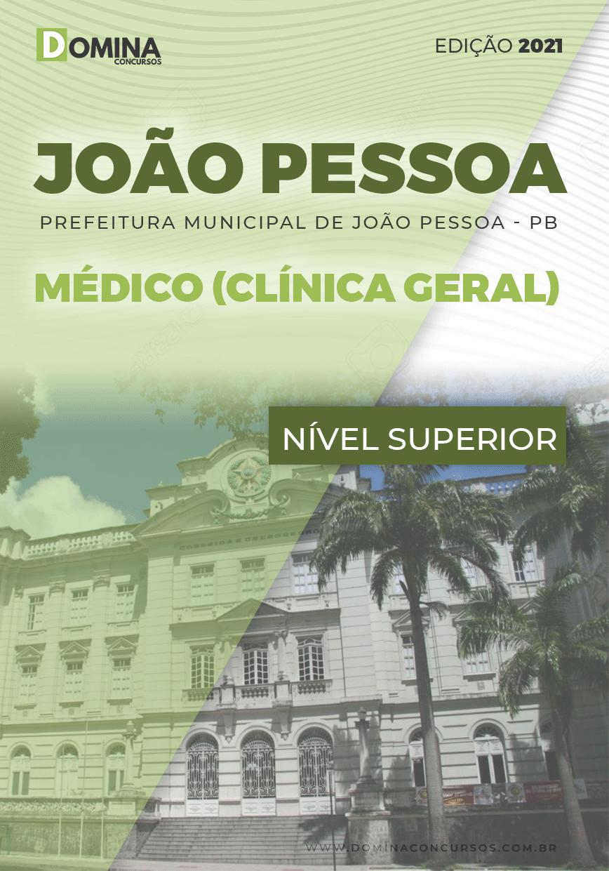 Apostila Pref João Pessoa PB 2021 Médico Clinico Geral