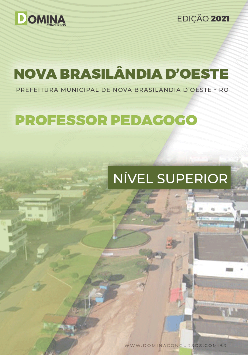 Apostila Nova Brasilândia D Oeste RO 2021 Professor Pedagogo