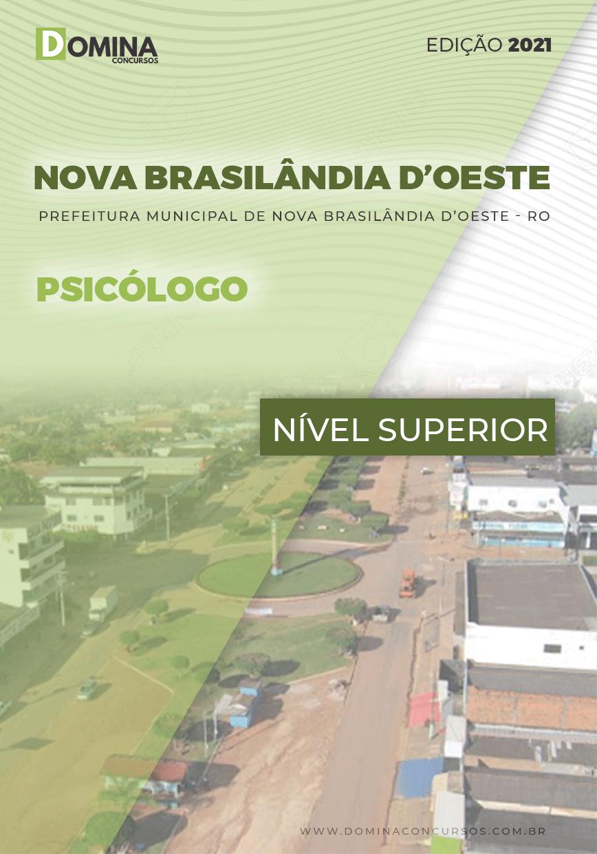Apostila Pref Nova Brasilândia D Oeste RO 2021 Psicólogo