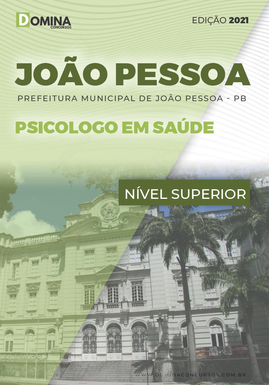 Apostila Concurso Pref João Pessoa PB 2021 Psicólogo em Saúde
