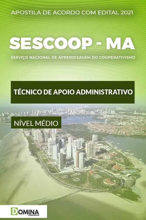 Apostila SESCOOP MA 2021 Técnico de Apoio Administrativo