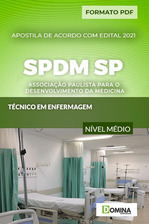 Apostila Concurso SPDM SP 2021 Técnico Enfermagem