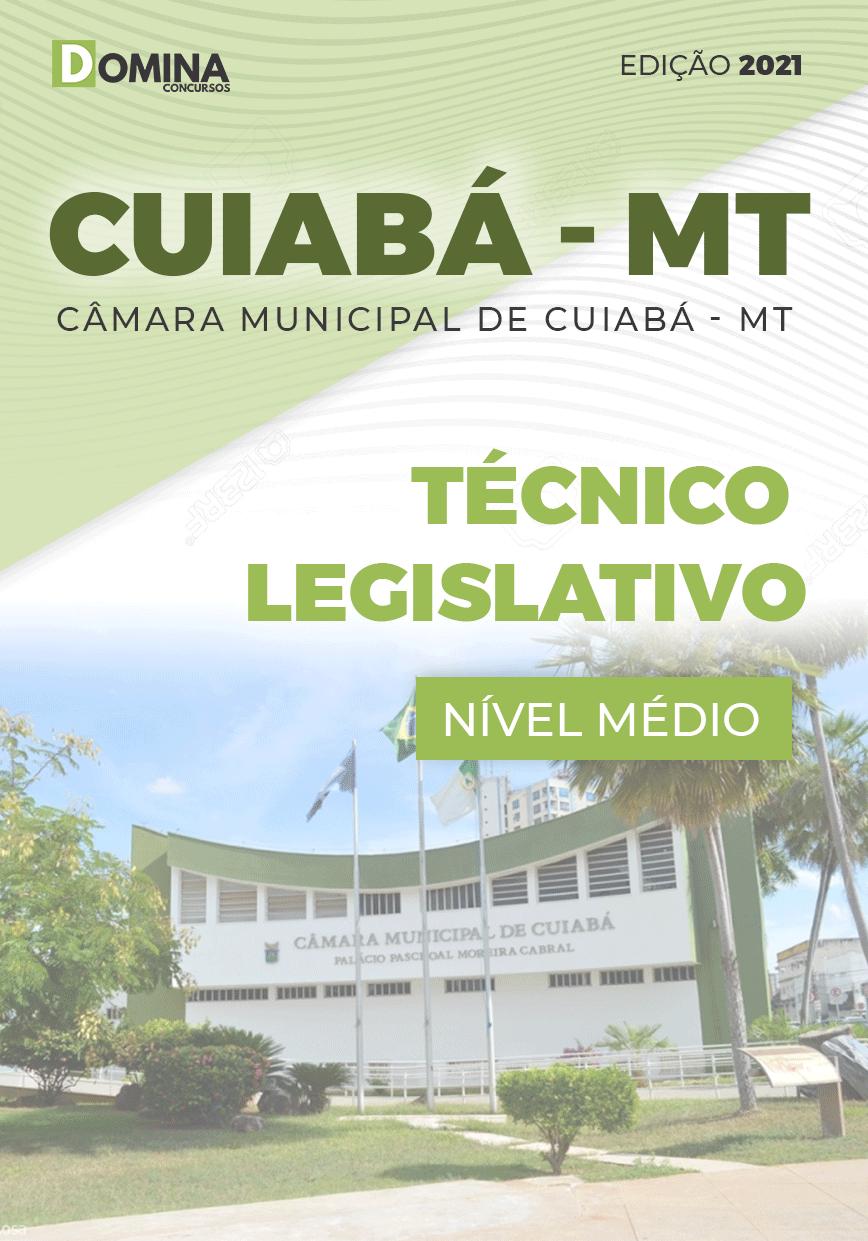 Apostila Câmara Cuiabá MT 2021 Técnico Legislativo