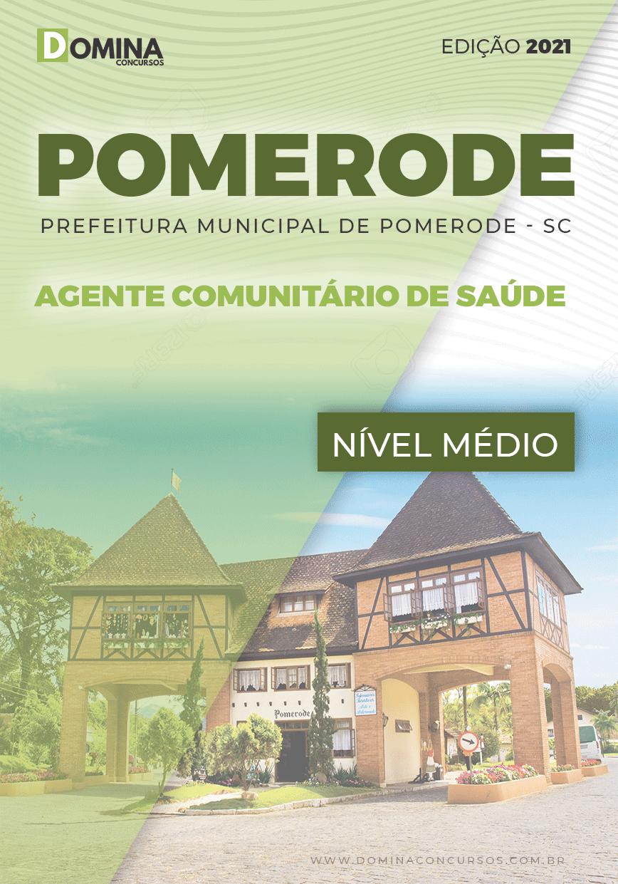 Apostila Pref Pomerode SC 2021 Agente Comunitário de Saúde