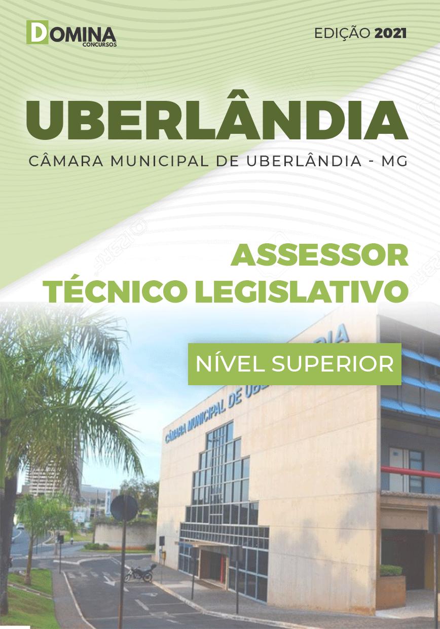 Apostila Câmara Uberlândia MG 2021 Assessor Técnico Legislativo