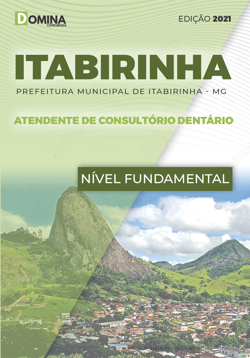 Apostila Pref Itabirinha MG 2021 Atendente Consultório Dentário