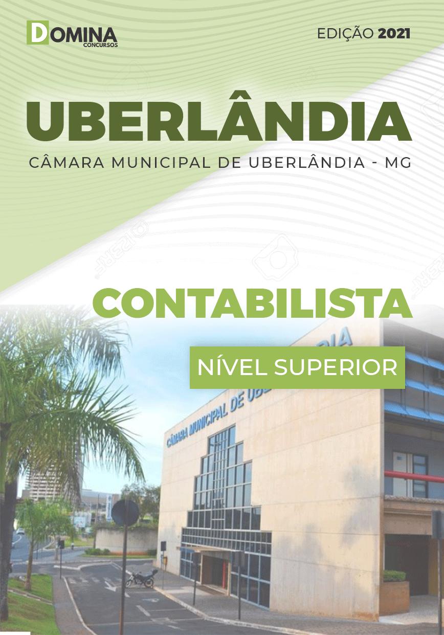 Apostila Concurso Câmara Uberlândia MG 2021 Contabilista