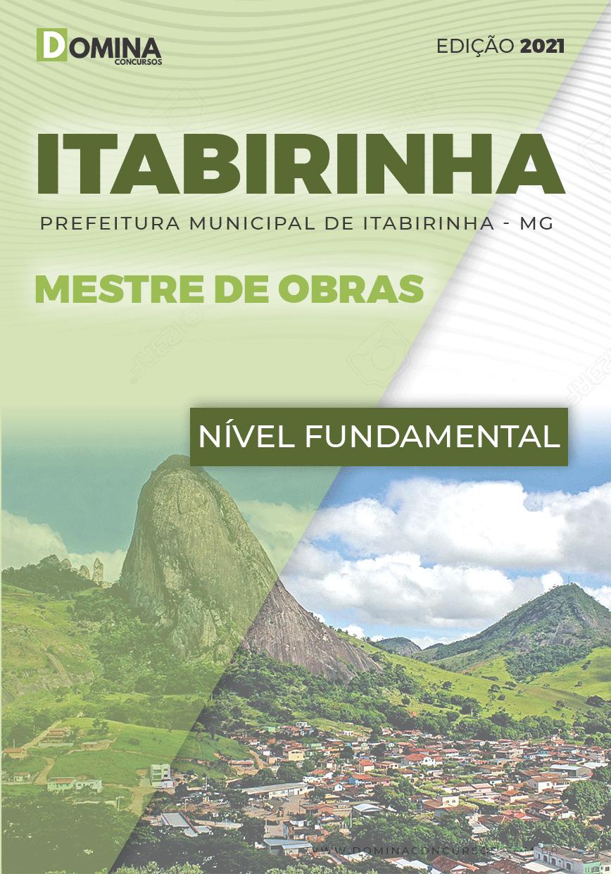 Apostila Concurso Pref Itabirinha MG 2021 Mestre de Obras