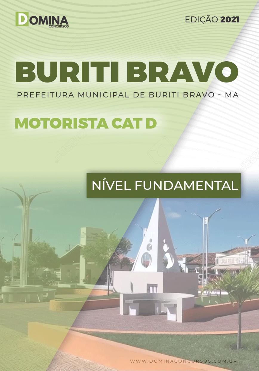 Apostila Concurso Pref Buriti Bravo MA 2021 Motorista CAT D