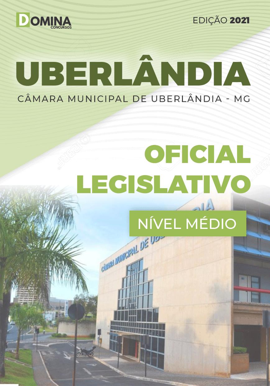 Apostila Concurso Câmara Uberlândia MG 2021 Oficial Legislativo