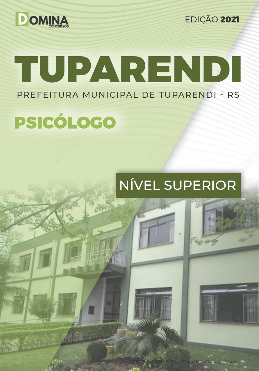 Apostila Concurso Pref Tuparendi RS 2021 Psicólogo