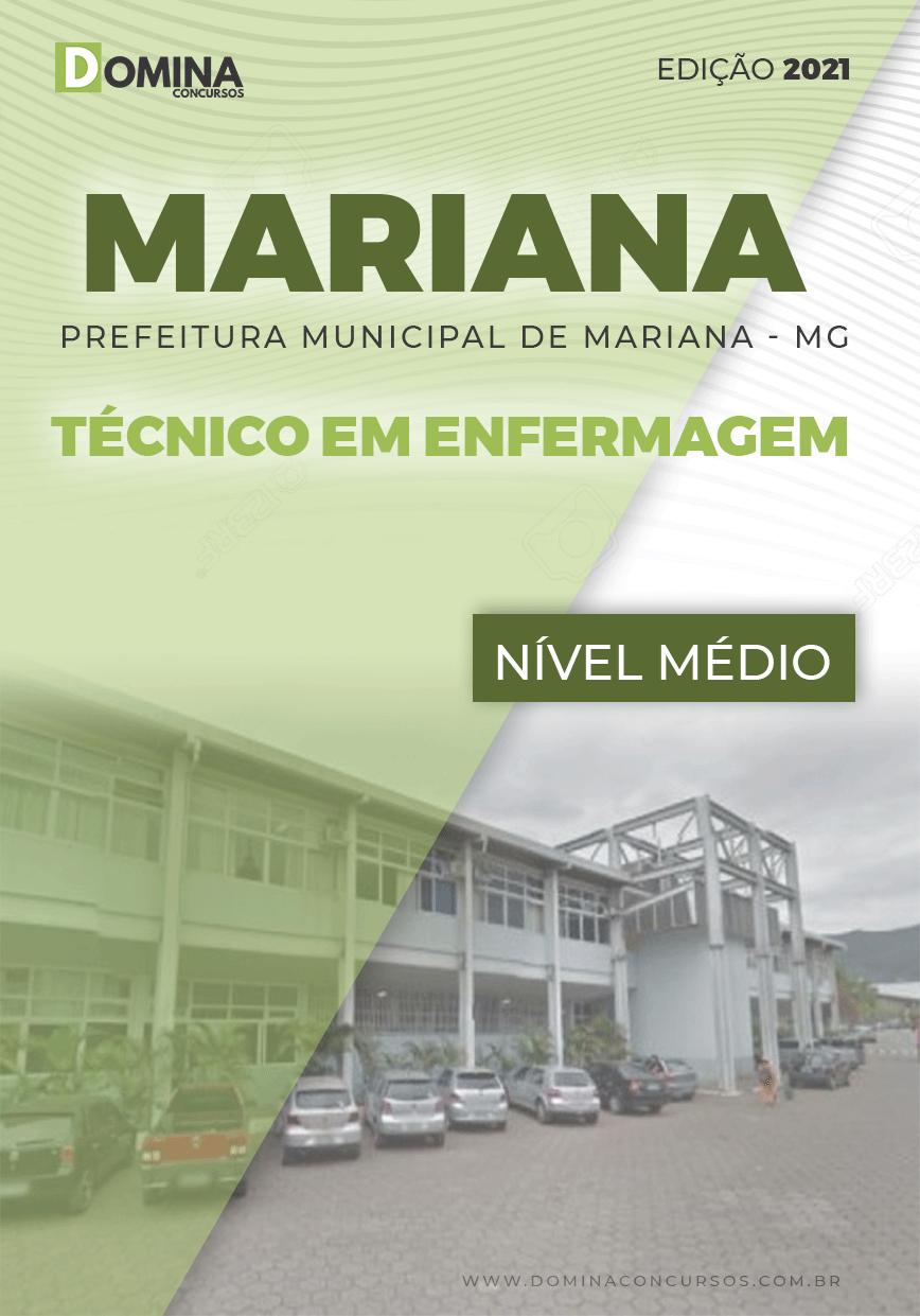 Apostila Seletivo Pref Mariana MG 2021 Técnico em Enfermagem