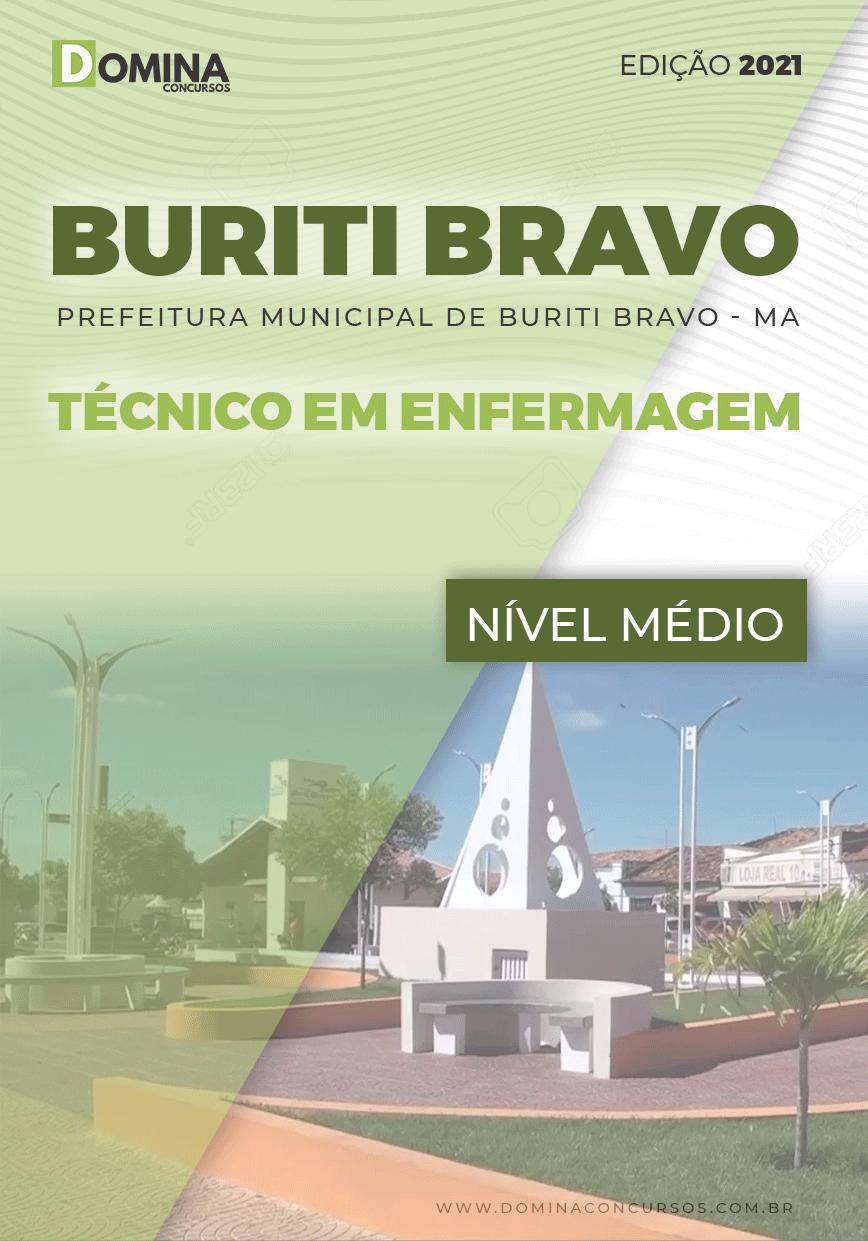 Apostila Concurso Pref Buriti Bravo MA 2021 Técnico em Enfermagem