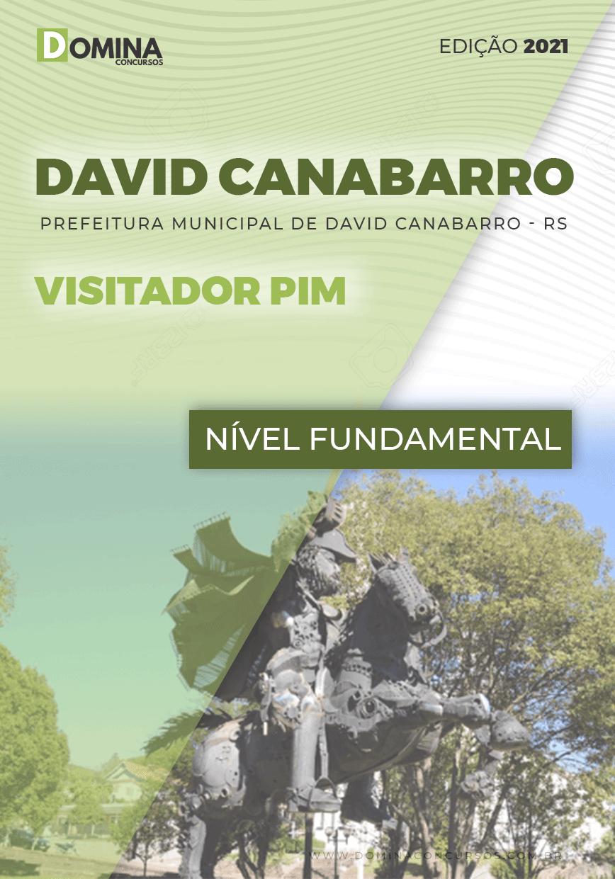 Apostila Seletivo Pref David Canabarro RS 2021 Visitador PIM