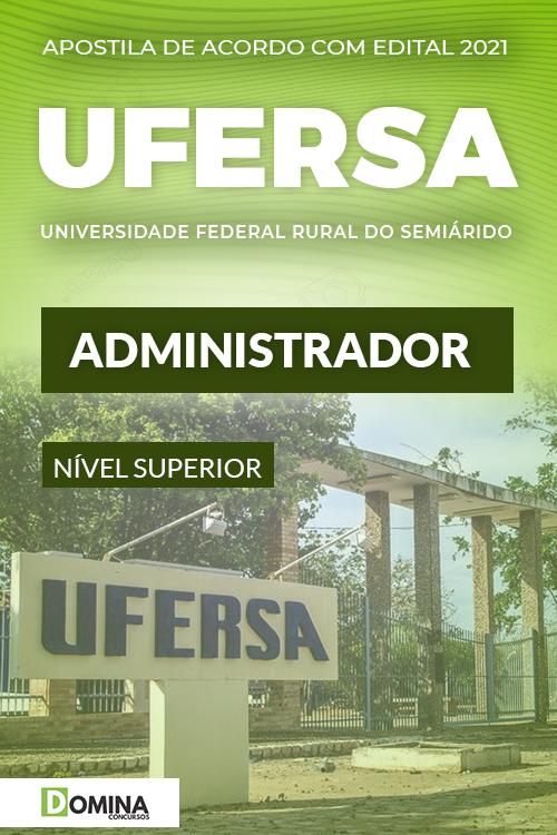 Apostila Concurso Público UFERSA 2021 Administrador