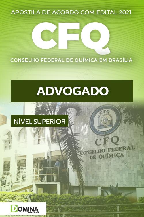 Apostila Concurso Público CFQ DF 2021 Advogado