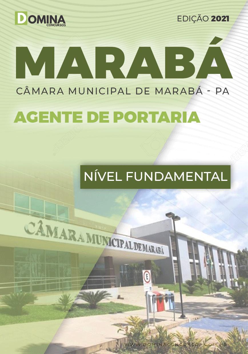 Apostila Concurso Câmara Marabá PA 2021 Agente de Portaria