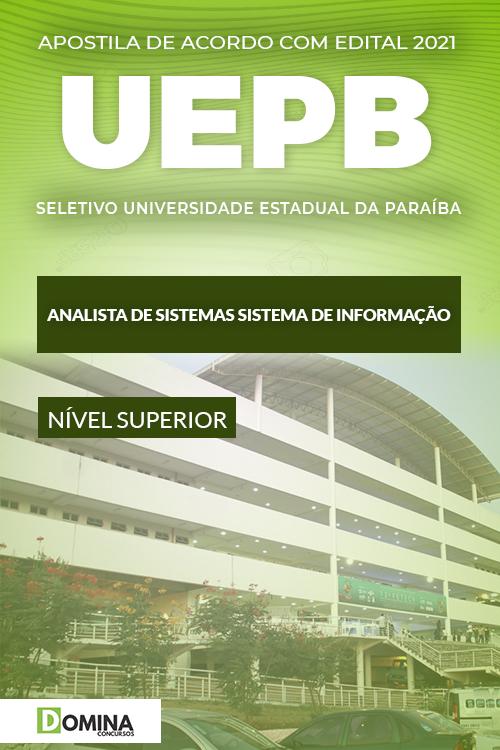 Apostila UEPB 2021 Analista de Sistemas Sistema Informação