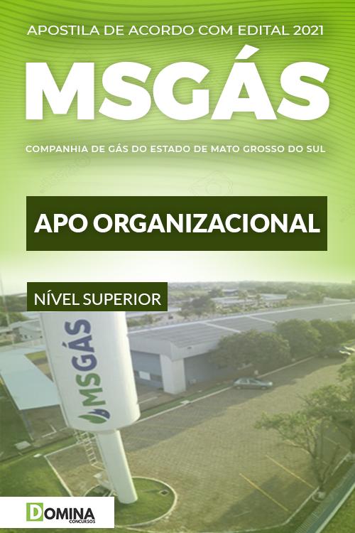 Apostila Concurso Público MSGás 2021 APO Organizacional