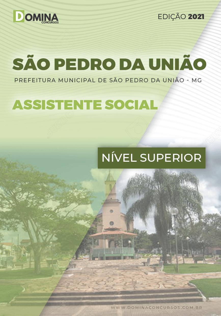 Apostila Concurso Pref São Pedro União MG 2021 Assistente Social