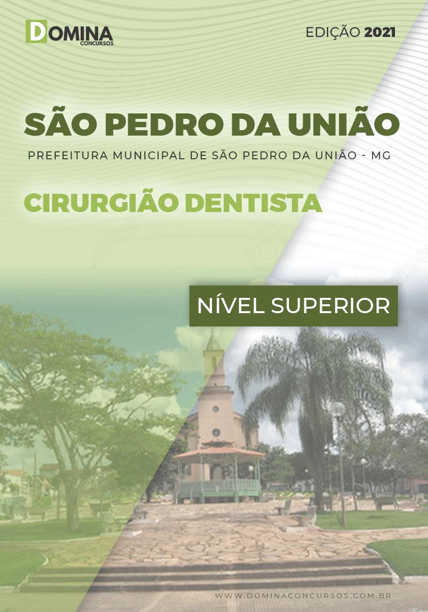 Apostila Concurso Pref São Pedro União MG 2021 Cirurgião Dentista