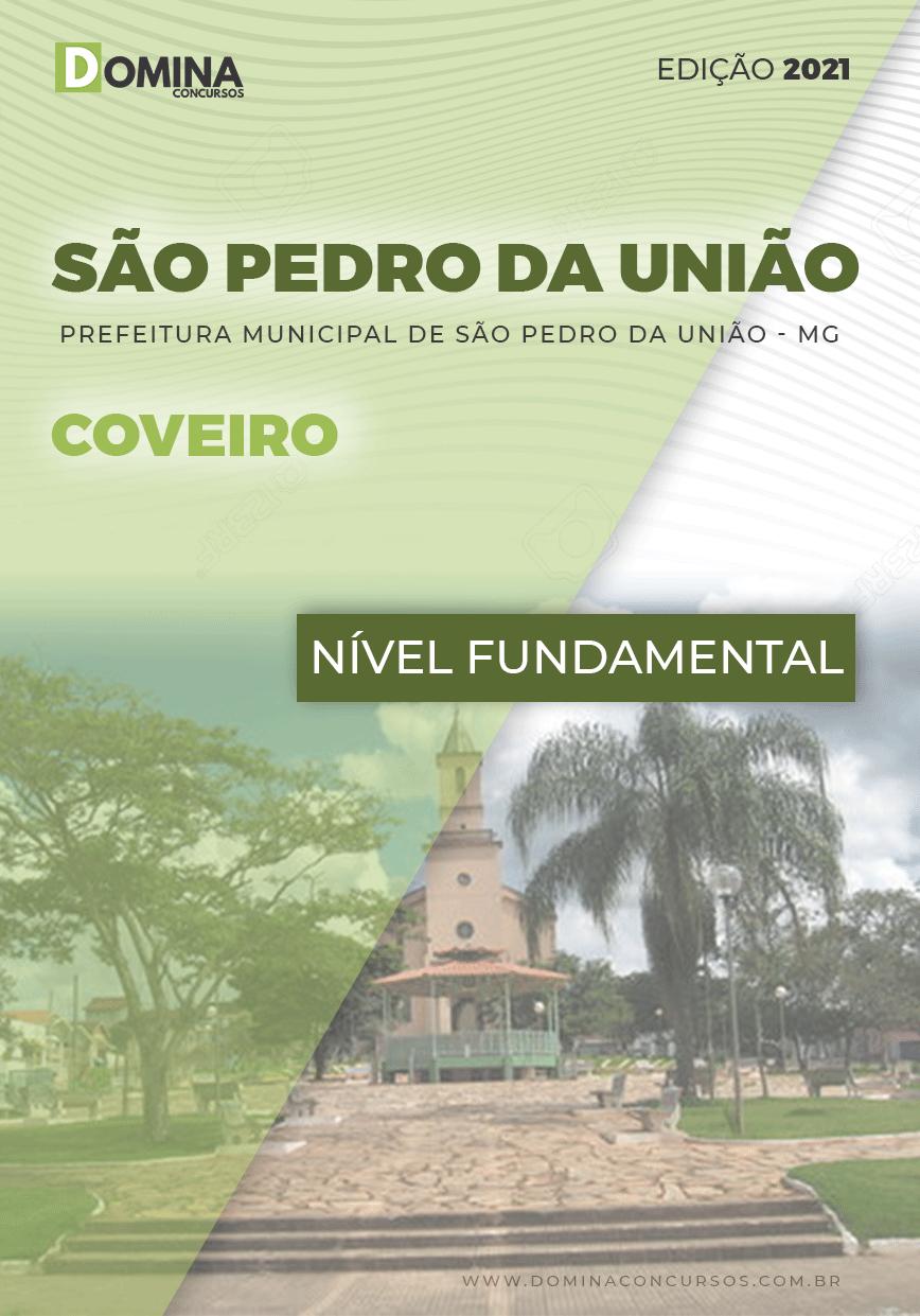 Apostila Concurso Pref São Pedro União MG 2021 Coveiro