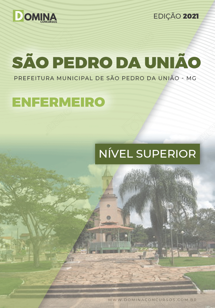 Apostila Concurso Pref São Pedro União MG 2021 Enfermeiro