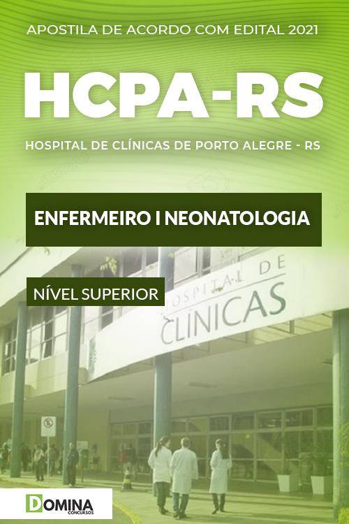 Apostila Seletivo HCPA RS 2021 Enfermeiro I Neonatologia