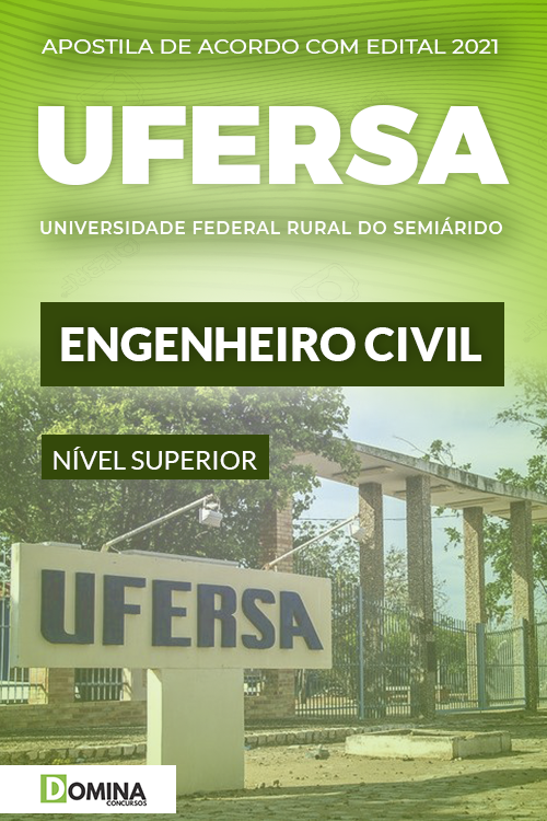 Apostila Concurso Público UFERSA 2021 Engenheiro Civil