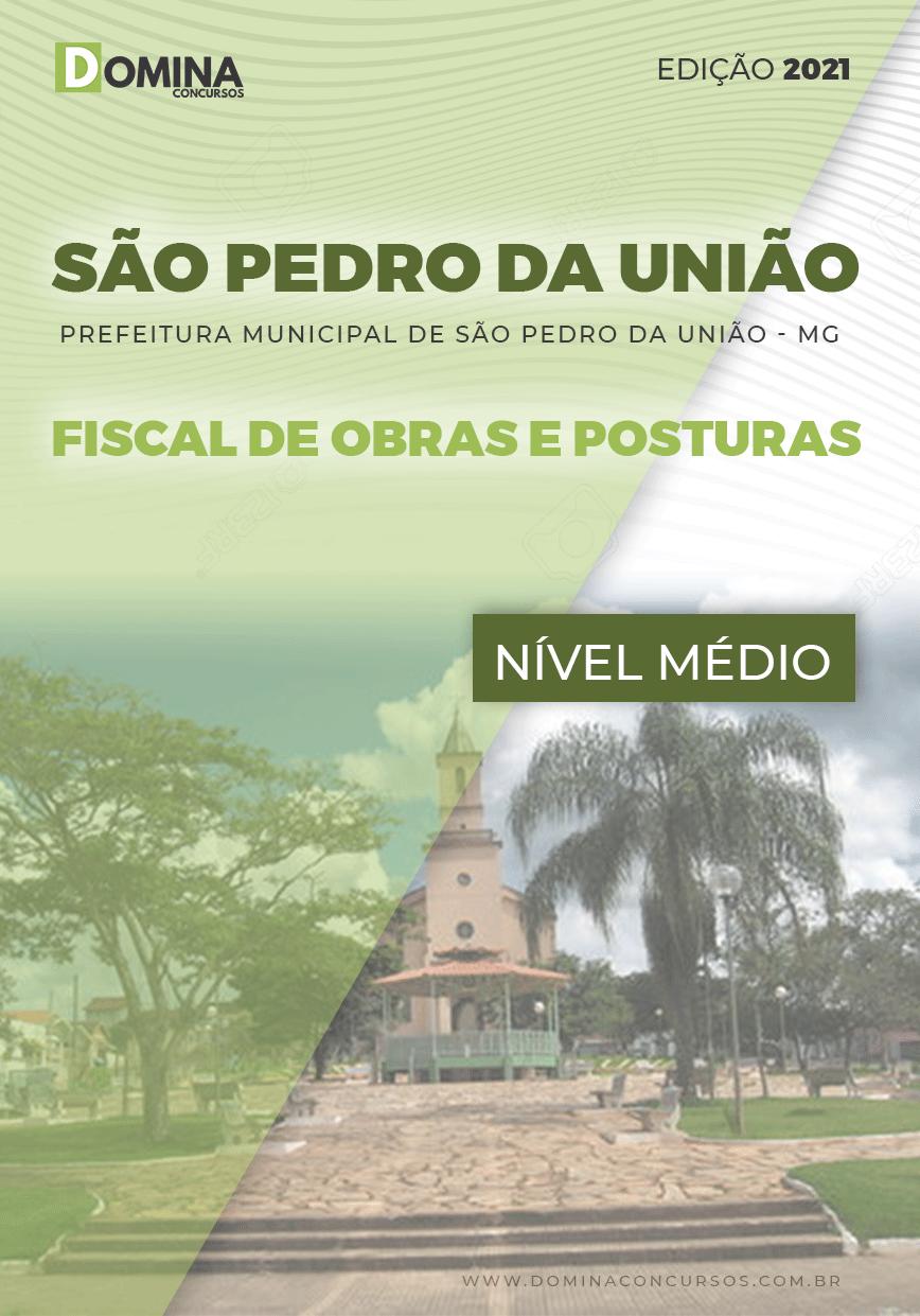 Apostila Pref São Pedro União MG 2021 Fiscal de Obras e Posturas