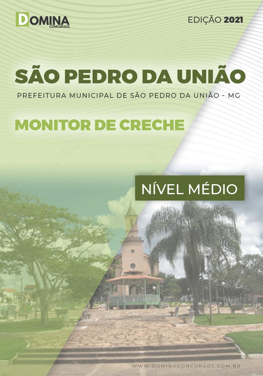 Apostila Pref São Pedro União MG 2021 Monitor de Creche