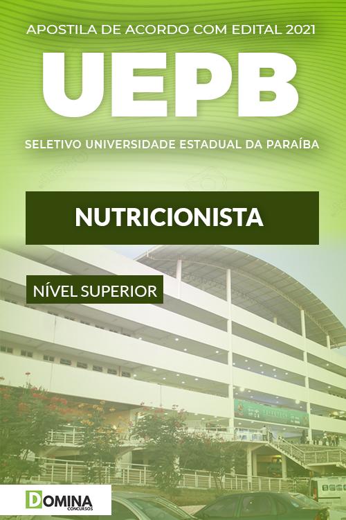 Apostila Processo Seletivo UEPB 2021 Nutricionista
