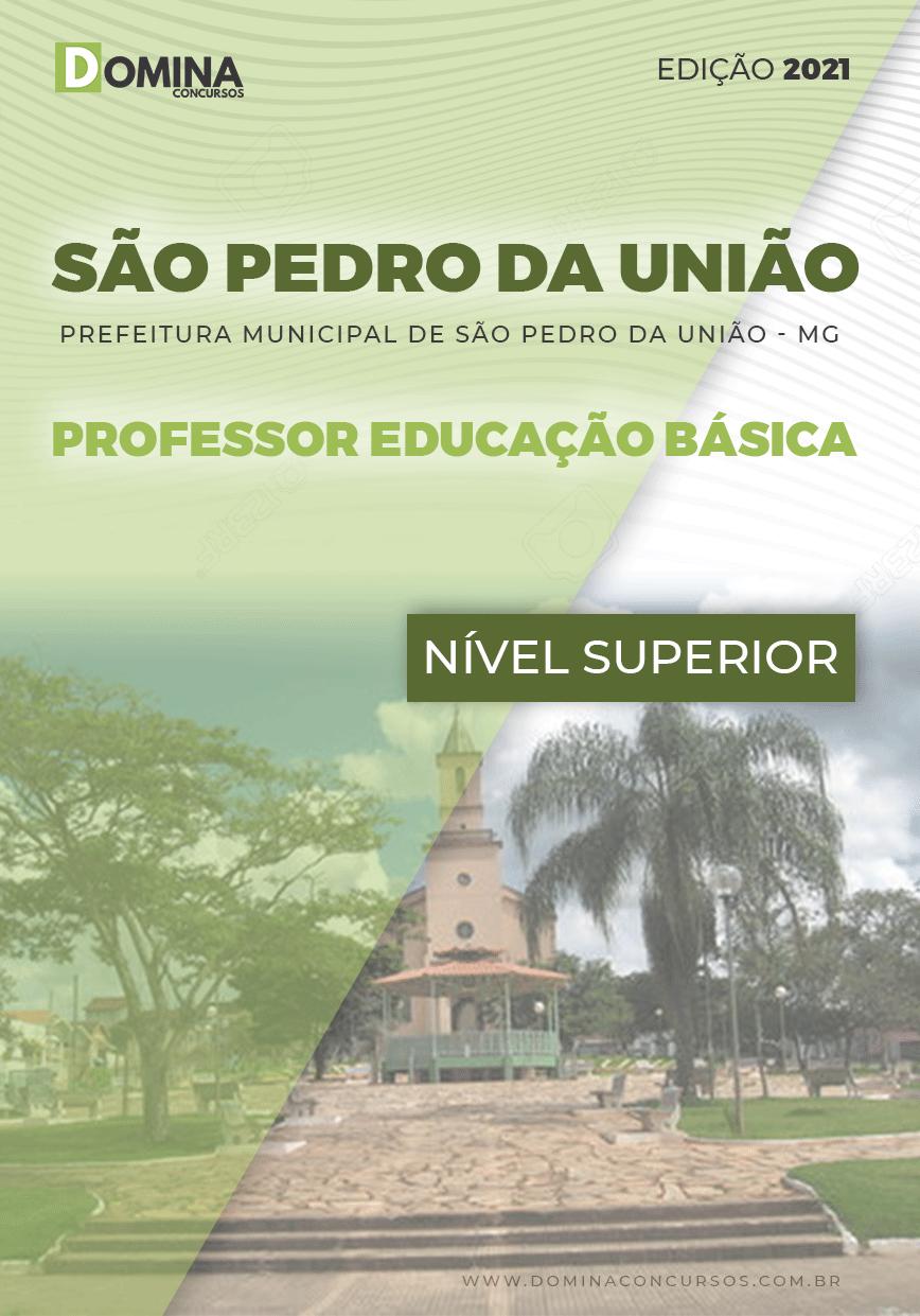 Apostila Pref São Pedro União MG 2021 Professor Educação Básica