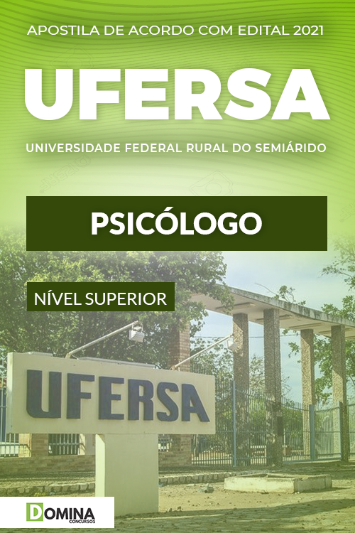 Apostila Concurso Público UFERSA 2021 Psicólogo