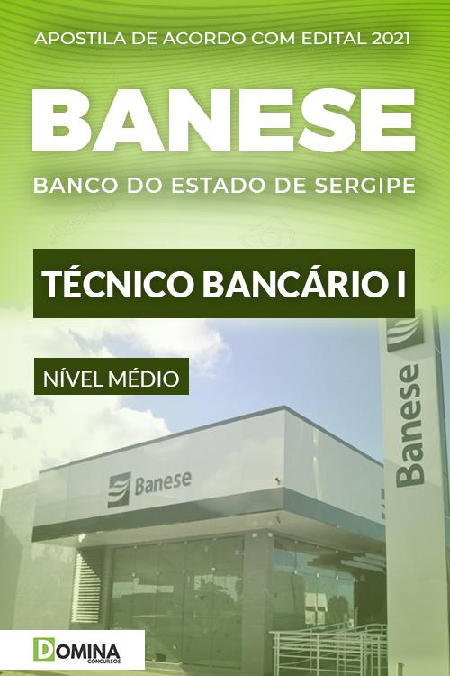 Apostila Concurso Público Banese 2021 Técnico Bancário I