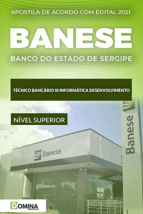 Apostila Concurso Banese 2021 Técnico Bancário III Informática