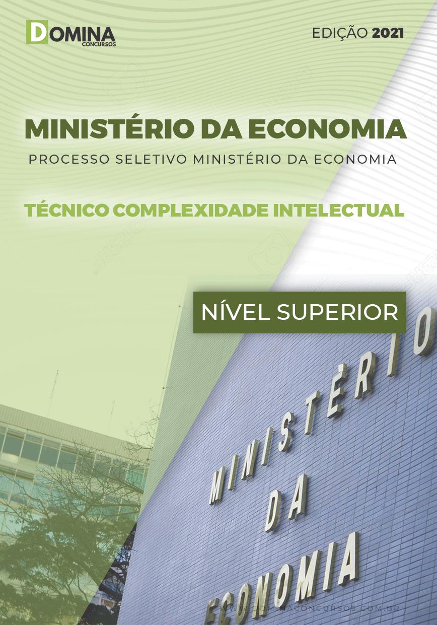 Apostila Ministério da Economia 2021 Técnico Complexidade Intelectual