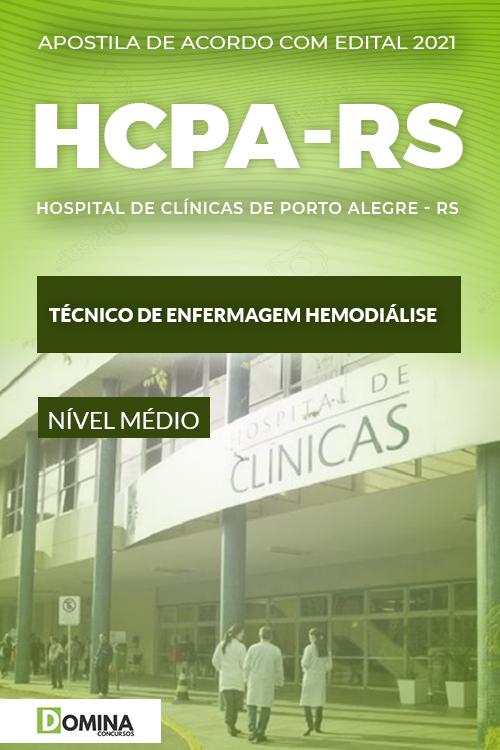 Apostila HCPA RS 2021 Técnico de Enfermagem Hemodiálise