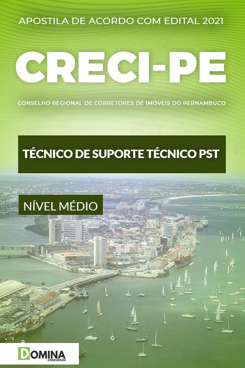 Apostila CRECI PE 2021 Técnico de Suporte Técnico PST