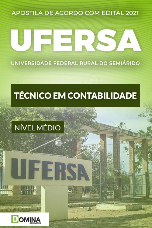 Apostila Concurso UFERSA 2021 Técnico em Contabilidade
