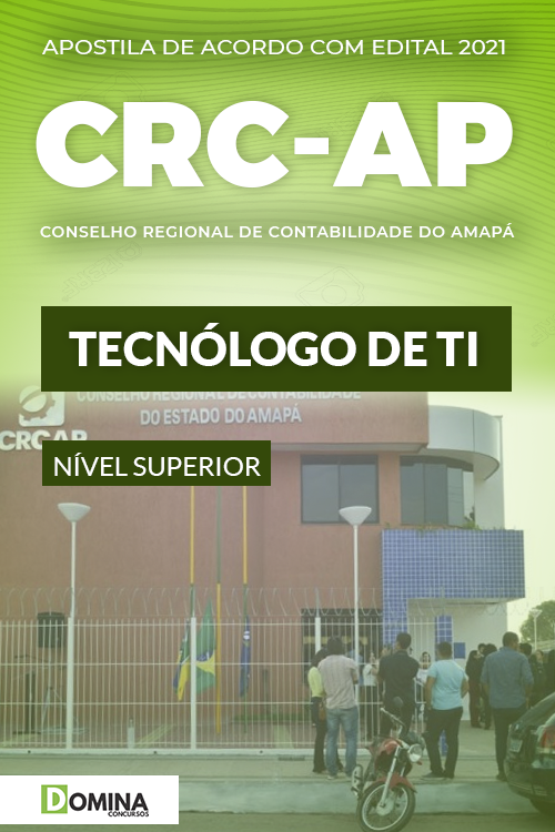 Apostila Concurso Público CRC AP 2021 Tecnólogo de TI