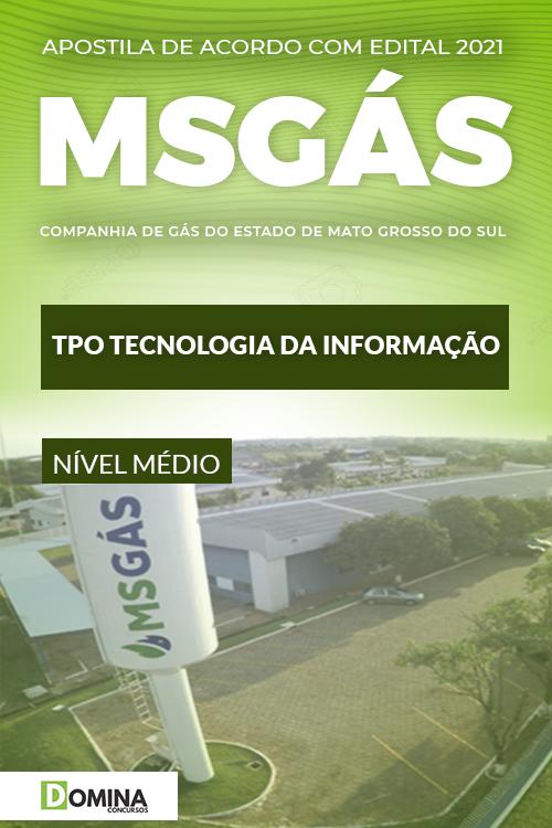 Apostila Concurso MSGás 2021 TPO Tecnologia da Informação