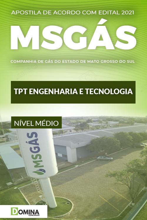Apostila Concurso MSGás 2021 TPT Engenharia e Tecnologia